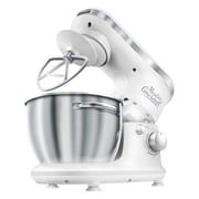 SNCR 4.2 Qt. 6-Speed Stand Mixer; Solid White