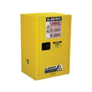 Justrite Sure-Grip  35''H x 23.25''W x 23.25''D EX Compac Flammable Safety Cabinet; Manual