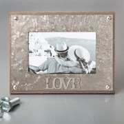 FashionCraft Love Metal Picture Frame