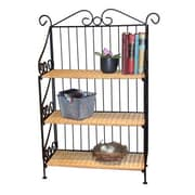 4D Concepts Wicker 37'' Accent Shelves Bookcase