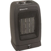 Comfort Zone 1,500 Watt Portable Compact Electric Fan Heater