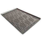 Xtreme Mats Under Sink Bathroom Cabinet Mat; Black