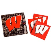Evergreen Enterprises, Inc NCAA It's A Party Gift Set; University of Wisconsin-Madison