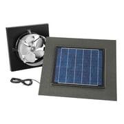 BQNU Gable Mount Solar Powered 537 CFM Attic Ventilator