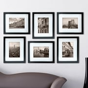 nexxt Design Gallery Picture Frame (Set of 6); Black