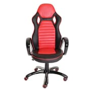 TimeOffice High-Back Ergonomic Chair ; Red