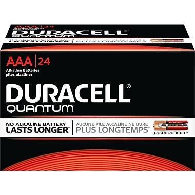 Duracell® Quantum AAA Alkaline Batteries, 24/Box