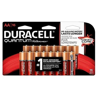 Duracell® – Piles alcalines AA Quantum, paq./16