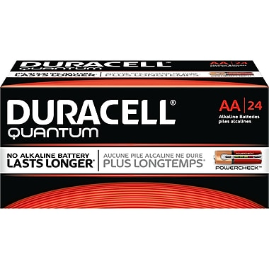 Duracell® – Piles alcalines AA Quantum, bte/24