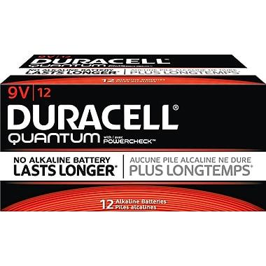 Duracell® Quantum 9V Batteries, 12/Pack