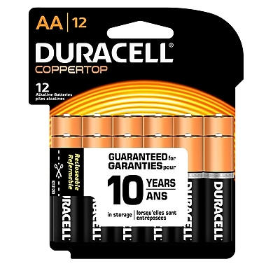 Duracell® - Piles alcaline AA, paq./12