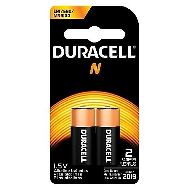 Duracell® MN9100 1.5V Alkaline Medical Battery, 2-Pack