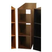 Venture Horizon VHZ Office Project Center 36'' Cube Unit Bookcase; Dark Walnut