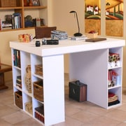 Venture Horizon VHZ Office Credenza Desk; White