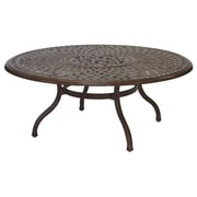 Darlee Series 60 Chat Table; Mocha