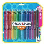 Paper Mate InkJoy Gel Pens, Fine Point (0.5mm), Assorted Colors, 14 Pack