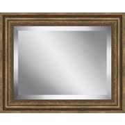 Ashton Wall D cor LLC Glass Wall Mirror; 25.5'' H x 25.5'' W x 1.75'' D