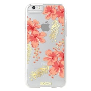 Skech® Fashion Protective Case for Apple iPhone 7 Plus, Gold and Silver Metallic Floral (SK38FSNFLR)