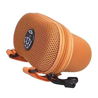 Ivation IVABIKE22OR Rechargeable Bicycle Speaker with MP3