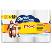 Charmin® Essentials Strong™ Bathroom Tissue, 1-Ply, White, 48/Carton (96892)