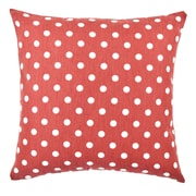Vesper Lane Polka Dot Throw Pillow; 18'' H x 18'' W x 6'' D