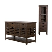 Wildon Home   Padilla Kitchen Island Set