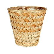 Household Essentials Willow and Poplar Wicker Trash Can