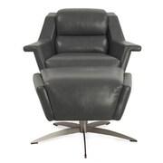 Moroni Kaato Full Top Grain Leather Swivel Chair