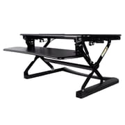 Homevision Technology Tygerclaw 23'' H x 35'' W Desktop Workstation Stand