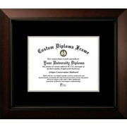 Campus Images Legacy Mats Picture Frame; Black/Silver