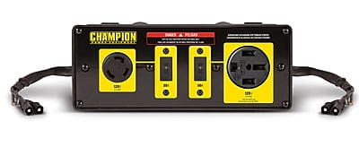 champion power equipment rv ready clipon parallel kit for inverter generators