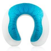 Modernhome - Cooling-Gel Memory Foam Travel Neck Pillow
