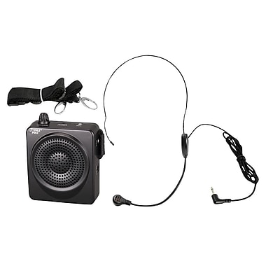 Pyle® PWMA50B 50 W Portable, Waist-Band Portable Public Address System