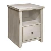 Laurel Foundry Modern Farmhouse Noelle 1 Drawer File Cabinet; White