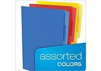 Pendaflex® Divide it Up File Folder, Multi Section, Letter, Assorted, 12/Pack