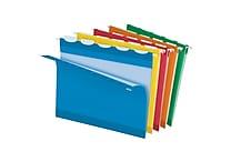 Pendaflex® Ready-Tab® Reinforced Hanging Folders, 5-Tab, Letter, Assorted, 25/Box (42592)