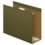 "Pendaflex® Extra Capacity Reinforced Hanging Folders, 4"", 5 Tab, Letter Size, Standard Green, 25/box (4152X4)"