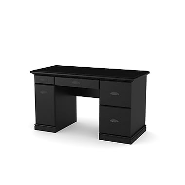 Dorel Computer Desk Black Ebony Ash Staples 174