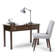Simpli Home Avalon Writing Office Desk, Tobacco Brown (AXCAVA008)