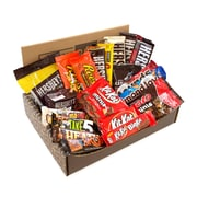 HERSHEY'S Happy Chocolate Candy Snack Variety Box, Care Package (20 Count) (700-00010)