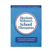 Merriam Webster School Thesaurus, Laminated Hardcover (3656)