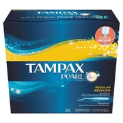 Tampax® Pearl Tampons, 36/Box (00455BX)