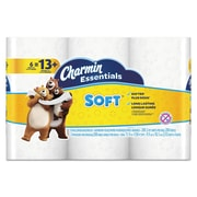 Charmin® Essentials Soft™ Bathroom Tissue, 2-Ply, White, 6/Pack (96480PK)