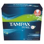 Tampax® Pearl Tampons, 36/Box (00369BX)