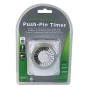 PRIME® Push-Pin Timer, 3-Prong, White, Each (TNI2412)