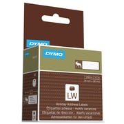"""DYMO® Holiday Labels, 1 1/8"""" x 3 1/2"""", Brown Moose, 1/Roll (1960080)"""
