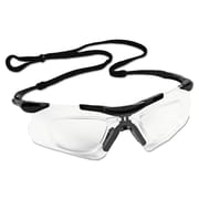 Jackson Safety* V60 Nemesis* Rx Reader Safety Glasses, Polycarbonate, Wraparound, Clear Anti-Fog Lens, 12/Carton (38503)