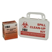 """First Aid Only® BBP Spill Cleanup Kit, 7 1/2"""" x 4 1/2"""" x 2 3/4"""", 1/Kit (6021)"""