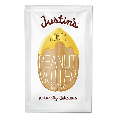 Justin's Nut Butter, Honey Peanut Butter, Nut Butter, 1.15 oz (00309) JNB00309