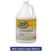 Zep Professional® Z-Tread Burnish Restorer, Unscented, 1 gal, 4/Carton (1041445)